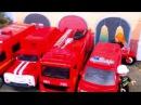 Мультик про машинки Пожарная машина тушит пожар в Лондоне мультфильм про пожарн...