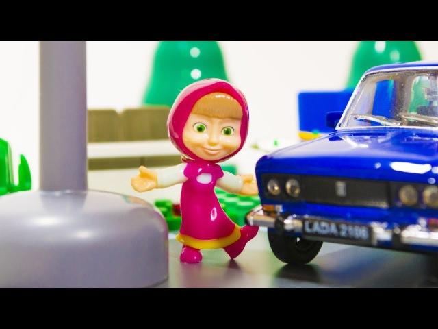 МАША и МЕДВЕДЬ. Мультик про Машинки. Что такое Светофор? Развивающее видео для де...