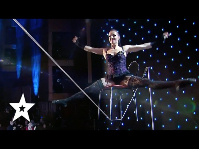 Tatiana Kundik, The Best Tight Rope Act EVER?! | Auditions Week 1 | Românii au talent