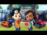 Rusty Rivets Bits on the Fritz. Fun Videos For Kids