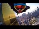 Полеты в костюме крыло в Дубаи Реактивный ранец Пролет в вингсьюте через огненное кольцо