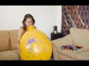 Blow to pop big balloons compilation