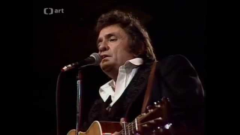 Johnny Cash - Reason To Believe (Live in Prague)