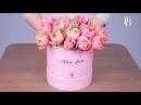Как сделать букет своими руками цветы в шляпной коробке