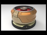 Zbrush sci fi Props, hard surface,techniques