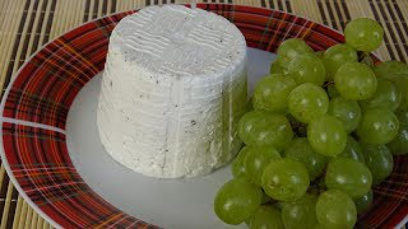 Как сделать домашний сыр из козьего молока. Шевр - козий сыр.