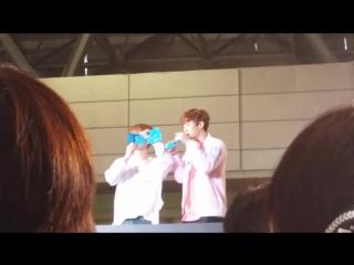 170514 EXO Baekhyun Chanyeol @ `EXO CUP` fanmeeting, D-3