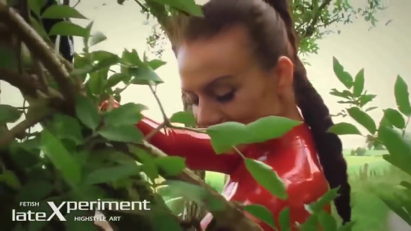 Valerie Tramell Red Catsuit