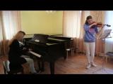 Just Play / Гражданская Оборона - Все идет по плану (кавер на скрипке и пианино)