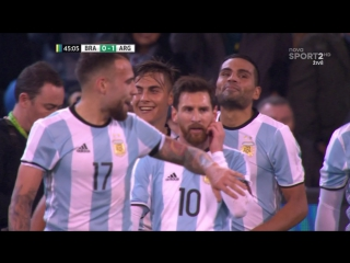 Бразилия - Аргентина 0:1. Обзор товарищеского матча.