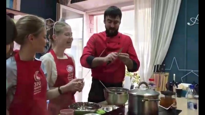 Девичник в Академии кулинарии