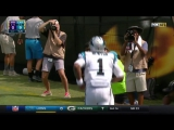 Cam Newton Fakes the Handoff Scrambles for the Score! _ Vikings vs. Panthers _ NFL