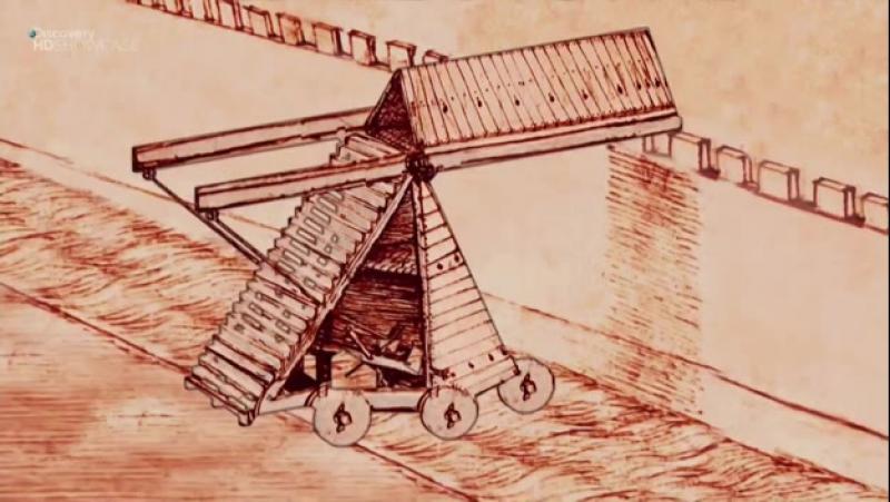 Аппараты Да Винчи с01e02.Штурмовая лестница