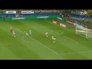 Philippe Coutinho Amazing Goal - Brazil vs Argentina 1-0 (World Cup Qualification)