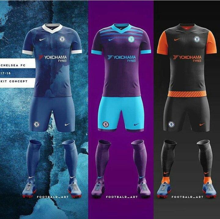 "Форма ""Челси"" от Nike"