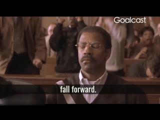 Denzel Washington - Fall Forward - watch and share!