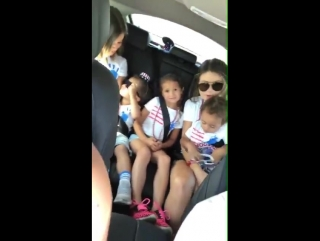 Such a cute video of Micah Cravalho and his family jamming to