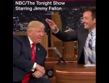 Jimmy Fallon meets Donald J. Trump - and goes where no-one has gone before.