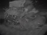 Ударная волна от испытания атомной бомбы в США, 1953 год