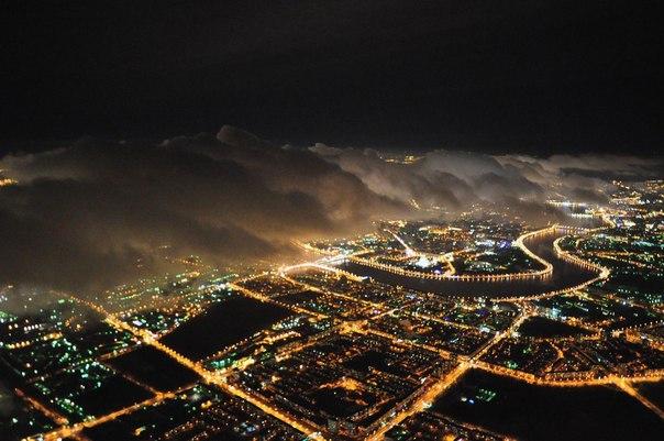 Ночной Санкт-Петербург, Россия