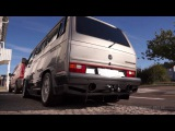 VW Caravelle T3 with V8 Twin Turbo - 1200hp / 1500Nm