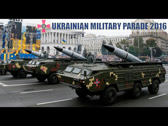 Військовий парад ЗСУ / Ukrainian Military Parade 2016 (FULLHD, Hell March)