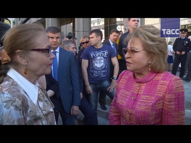 Матвиенко заявила об отсутствии юридических оснований отклонять закон о ренова...
