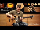 Furch B61-CM Fretless acoustic bass demo played by Miklós Szula in Stageshop