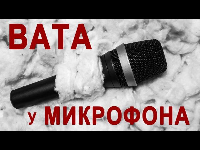 Василий Шумов Вата у микрофона