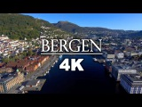 B E R G E N  f r o m  A B O V E  -  4K Autumn Drone Movie