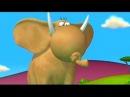 Cartoon Gazoon | Мультфильм Газун - Storm On The Savanna | Гроза в Саванне - Cartoons For Children
