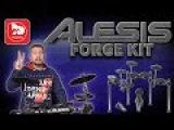 Электронная барабанная установка ALESIS FORGE KIT - YouTube