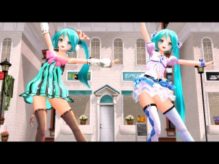 【MMD】 愛の詩( Love Song) - Miku Appearance【1080・60fps】