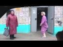 голая бабка танцует на улице