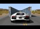BeamNG drive - Narrowing Walls Car Crashes