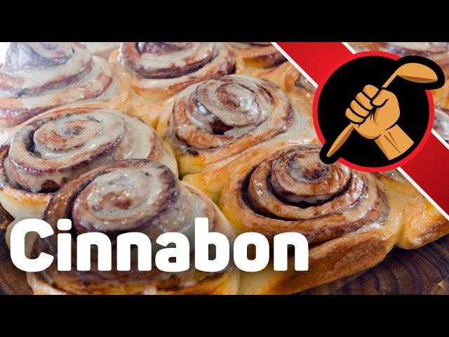 Cиннабон cinnabon - чудовищно вкусные булочки с корицей