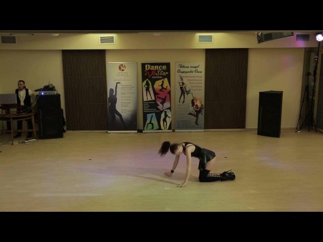 Dance Star Festival 13 03 16, Стрип шоу Профи, Крутилкина Ника