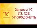 Язык запросов 1С 8.3 ИЗ, ГДЕ, УПОРЯДОЧИТЬ