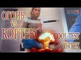 Тест Супер прочное покрытие дверей Кортекс COOL TEST DOOR CORTEX (Germany) VS fire and scratches