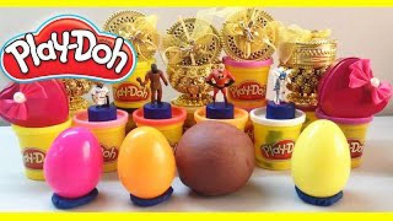 Play-Doh Surprise Eggs Video | Play Doh Surprise Balls | Egg Surprise Toys Videos For Kids.