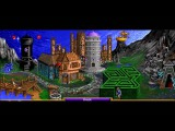 Heroes of Might And Magic 1 Warlock Town Theme Animatic (1995, NWC) 720p Animated