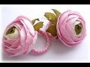 Ранункулюсы из фоамирана Flowers foamirana Ranunkulyusy