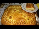 Пирог с капустой. Рецепт теста и начинки, приготовление пирога.