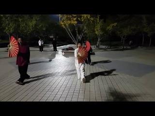 Занятия с Мастером Сю в Клубе Боевых искусств г. Тайань, Китай 2016