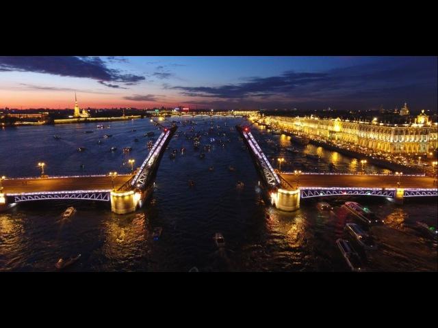 Best of night St Petersburg FPV Drone flights Полеты над ночным Санкт Петербургом