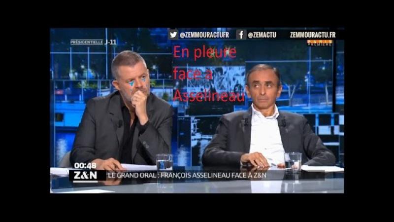 Asselineau humilie violemment Zemmour Naullau 12 04 2017