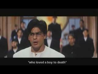 Влюблённые/Mohabbatein (2000)  Индийский  клип из фильма  влюбленные  танцы студентов  В колледже  день рождение...