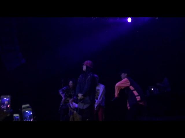DEAN- Im Not Sorry(Live w Club Eskimo SAAY in Dallas) 170510 60fps