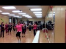 Dancando Lambada Zumba Fitness with Dina Hunter at Perla Fitness Dance Studio in Stockton Ca 11/