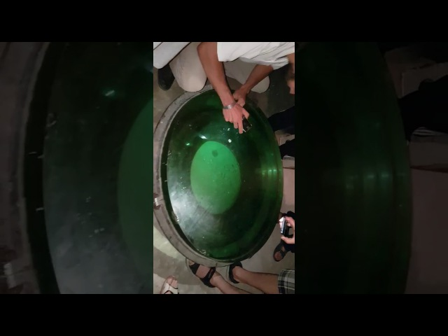 пробуем приподнять 1 метровое зеркало рефлектора Симеизской обсерватории